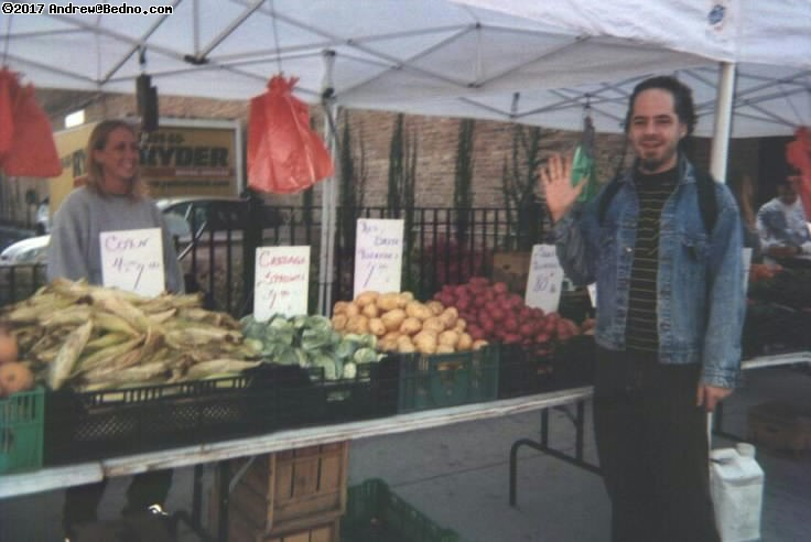 Final Farmers Market. Andrew. (click for next photo)