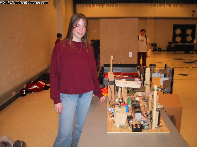 Mission Possible entrant. This High School sophomore's creation has 30 stages! (click for next photo)