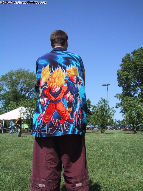 Dragonball Z gear. (click for next photo)