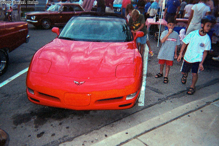 Red Corvette. (click for next photo)