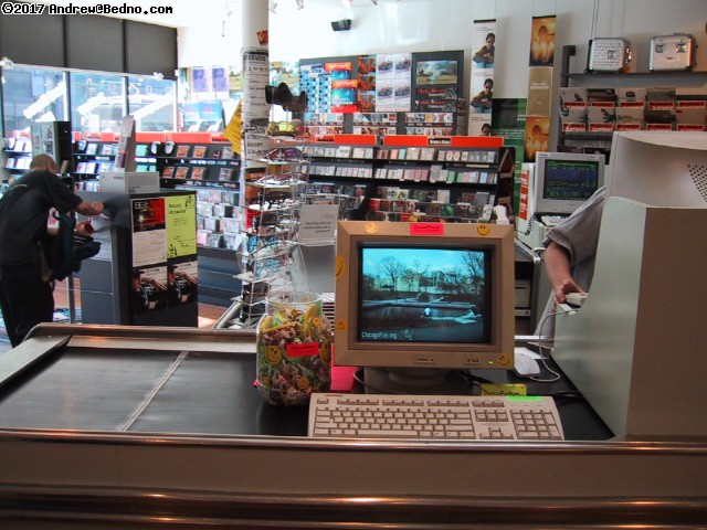 Bedno.com Entertainment Information Terminal in Supreme Records (click for next photo)