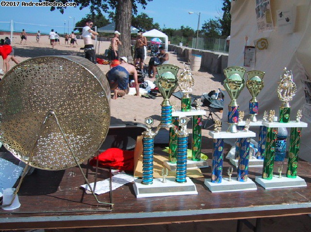 SandBlast: Trophies and raffle. (click for next photo)