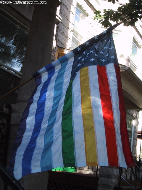 Pride flag. (click for next photo)