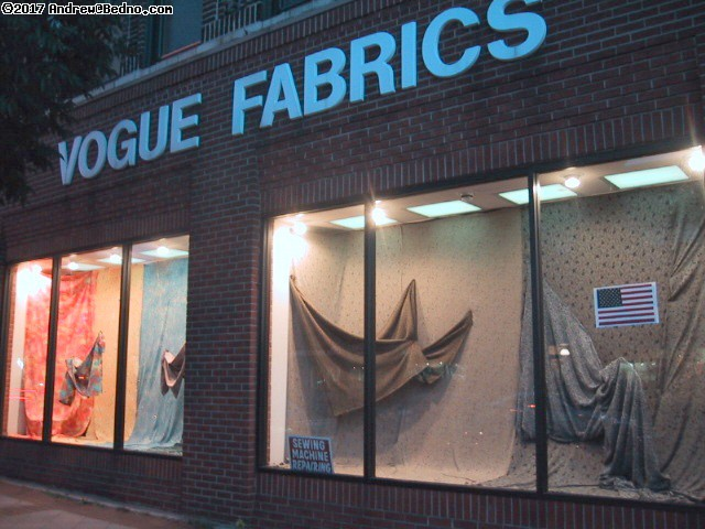 Vogue Fabrics. (click for next photo)