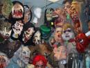Fantasy Costume: Rubber masks department: HORROR! (click to zoom)