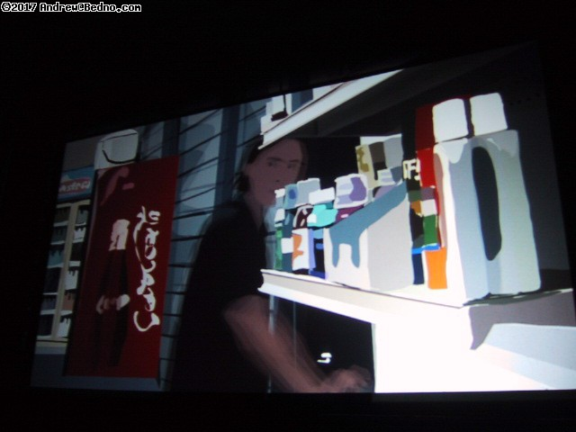 Waking Life. Brilliant film, actually looks like this. (click for next photo)