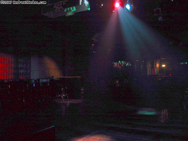 Club 950 reopening: Lights, cobblestone dance floor. (click for next photo)
