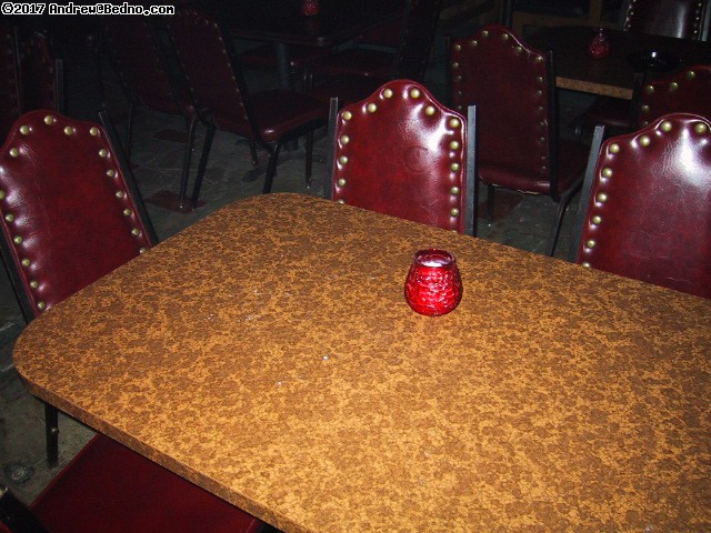 Club 950 reopening: Table closer. (click for next photo)