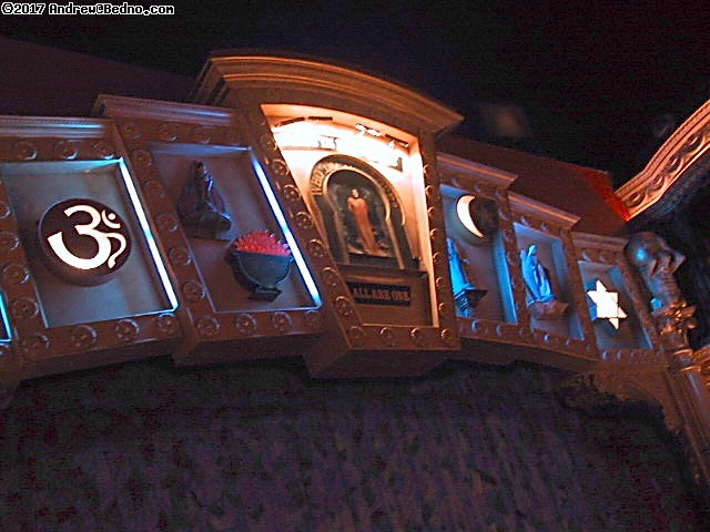 House of Blues: House of Blues: Symbols of many faiths. (click for next photo)