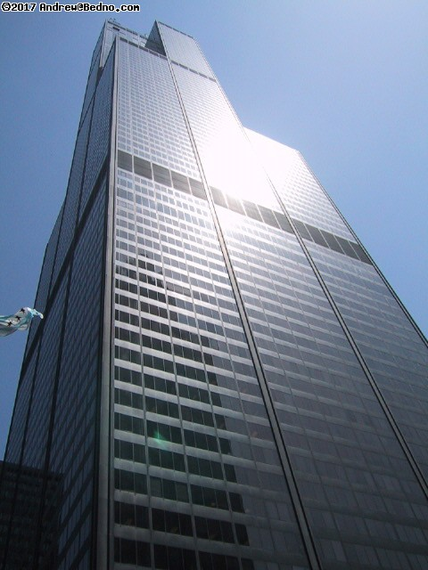Sears Tower, 312/875-9696, 233 S Wacker, third tallest building in the world. (click for next photo)