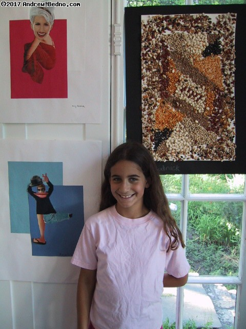 David Adler Estate: Kids art camp. (click for next photo)