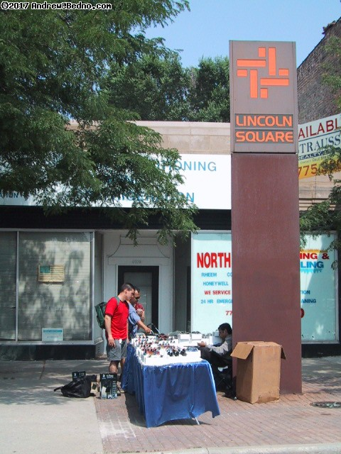 Lincoln Square Sidewalk Sale. (click for next photo)