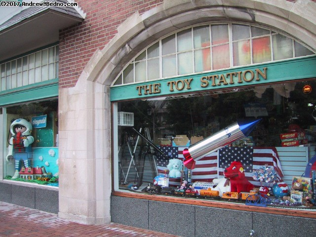 The Toy Station in Lake Forest. (click for next photo)
