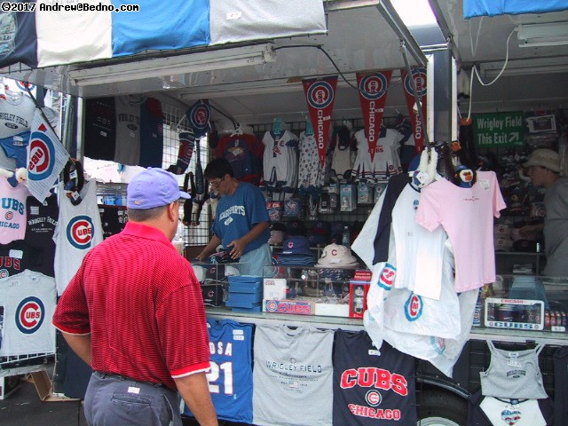 Cubs at Wrigley Field: Souvenirs. (click for next photo)