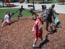 Pier Walk: Brass running kids. (click to zoom)
