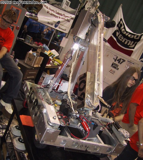 Robotics Competition. (click for next photo)
