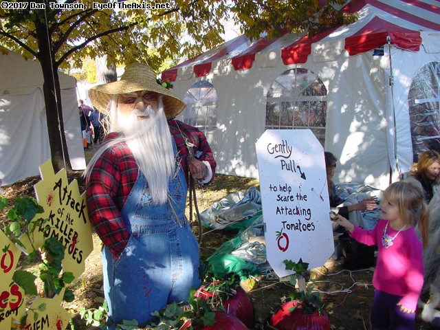 Scarecrow Fest in St. Charles. (click for next photo)