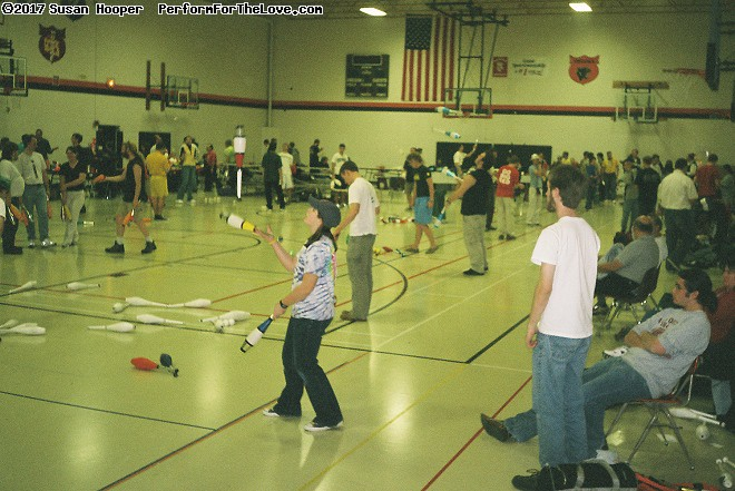 Madfest juggling convention in Madison. Since 1959! (click for next photo)