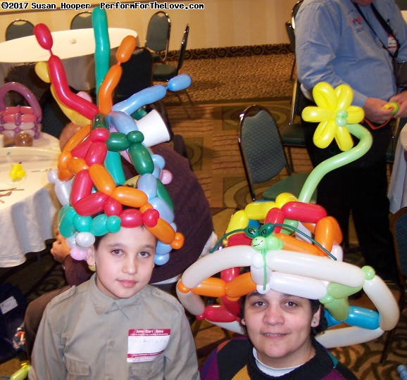 Halloween and Party Trade Show. Balloon Jam. (click for next photo)