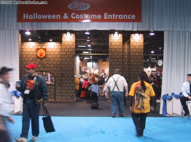 Halloween and Party Trade Show.