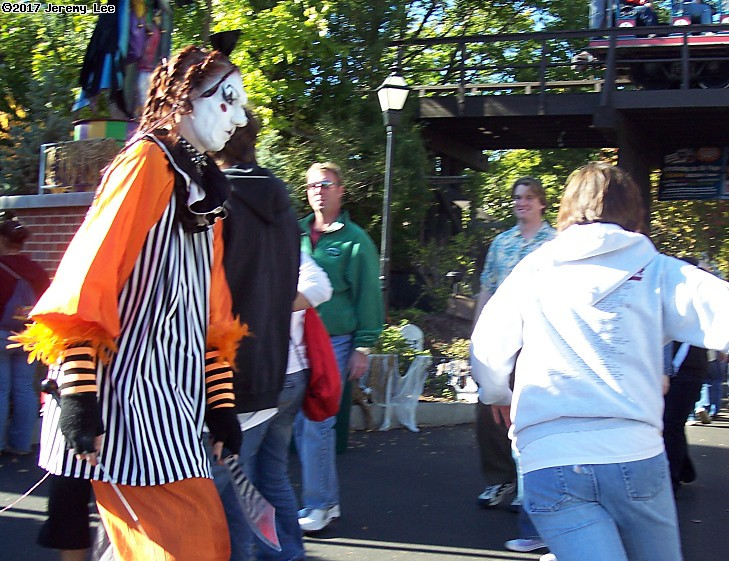 Fright Fest at Great America. (click for next photo)