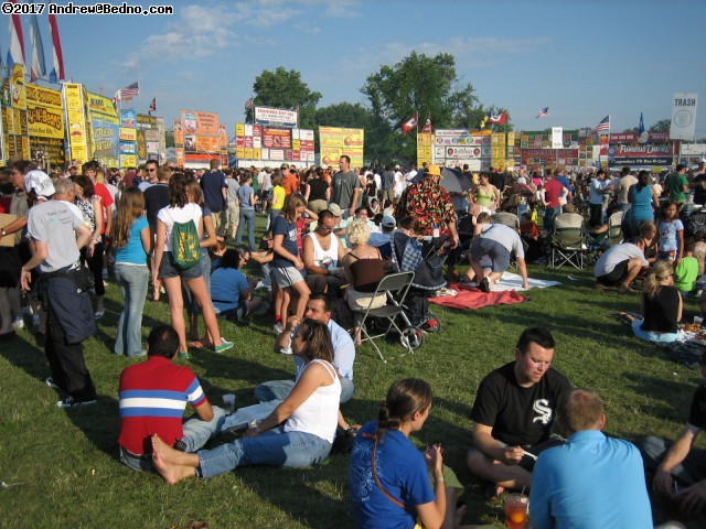 Naperville Rib Fest. (click for next photo)
