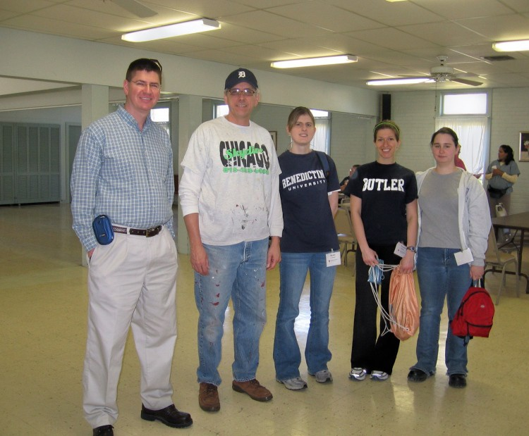 Volunteers of America Katrina relief trip to Louisiana. (click for next photo)
