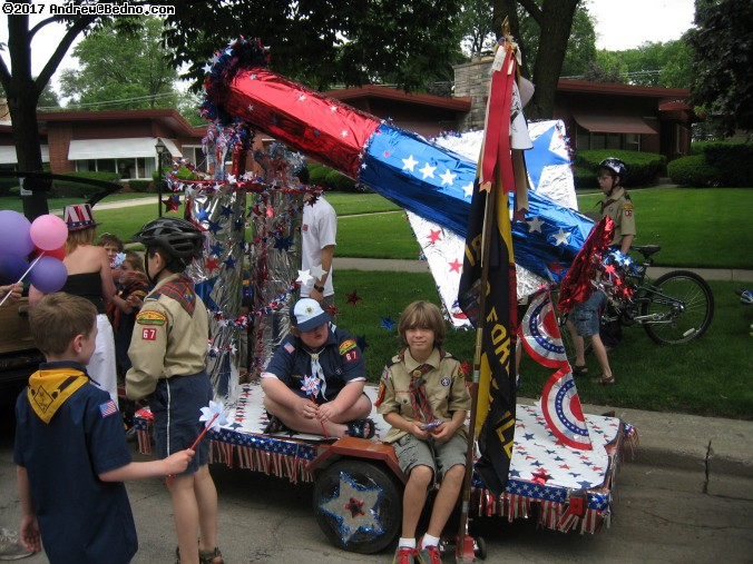River Forest Memorial Day parade.