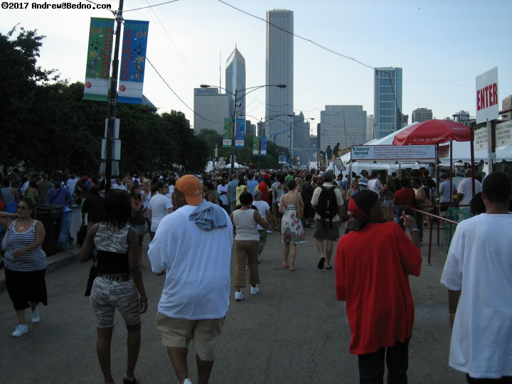 Taste of Chicago. (click for next photo)