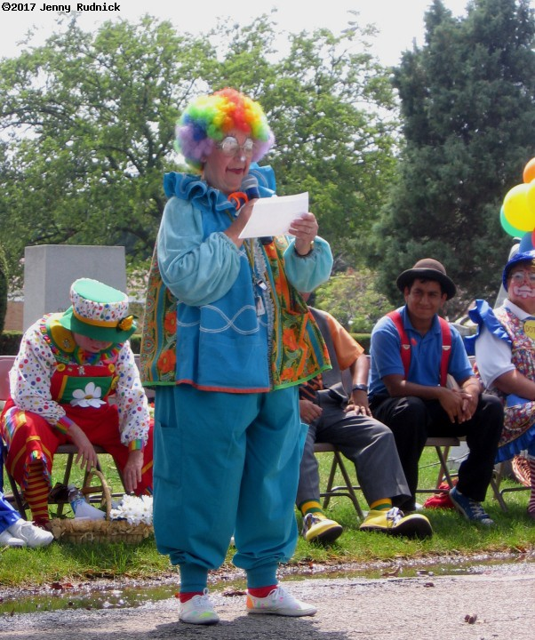 Clown Week Celebration at Showmen's Rest. (click for next photo)