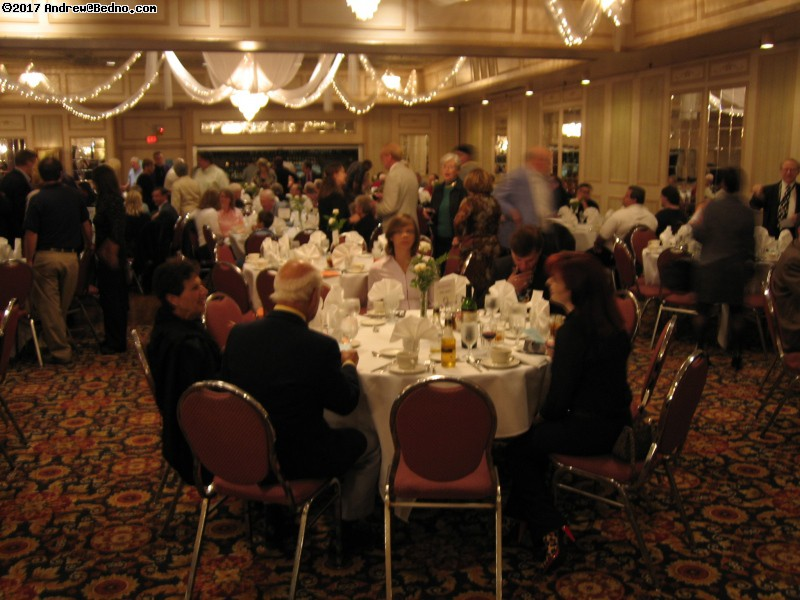 Wizards Club of Chicago 75th anniversary banquet. (click for next photo)
