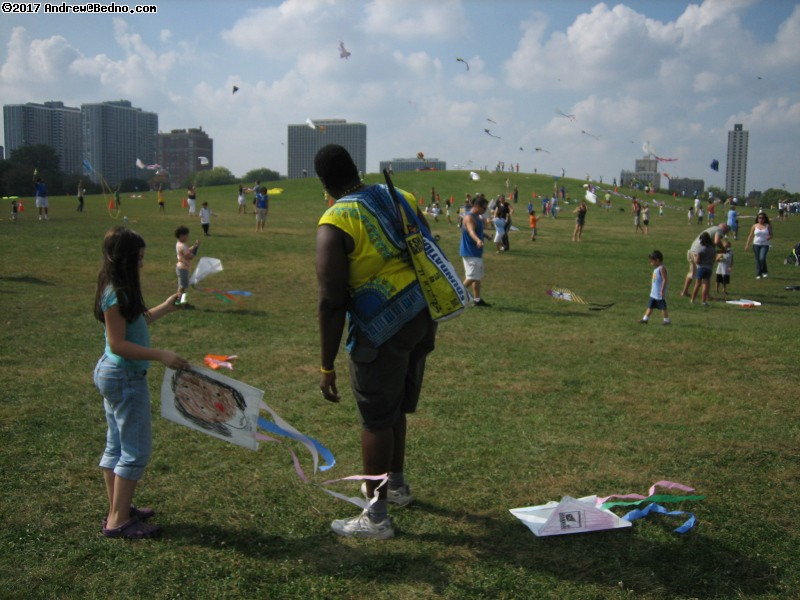 Kids-N-Kites festival on Cricket Hill in Montrose Park. (click for next photo)