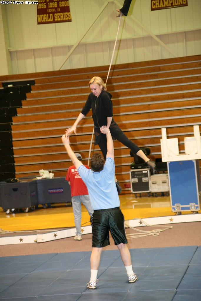 Triton Troupers Circus rehearsal. (click for next photo)