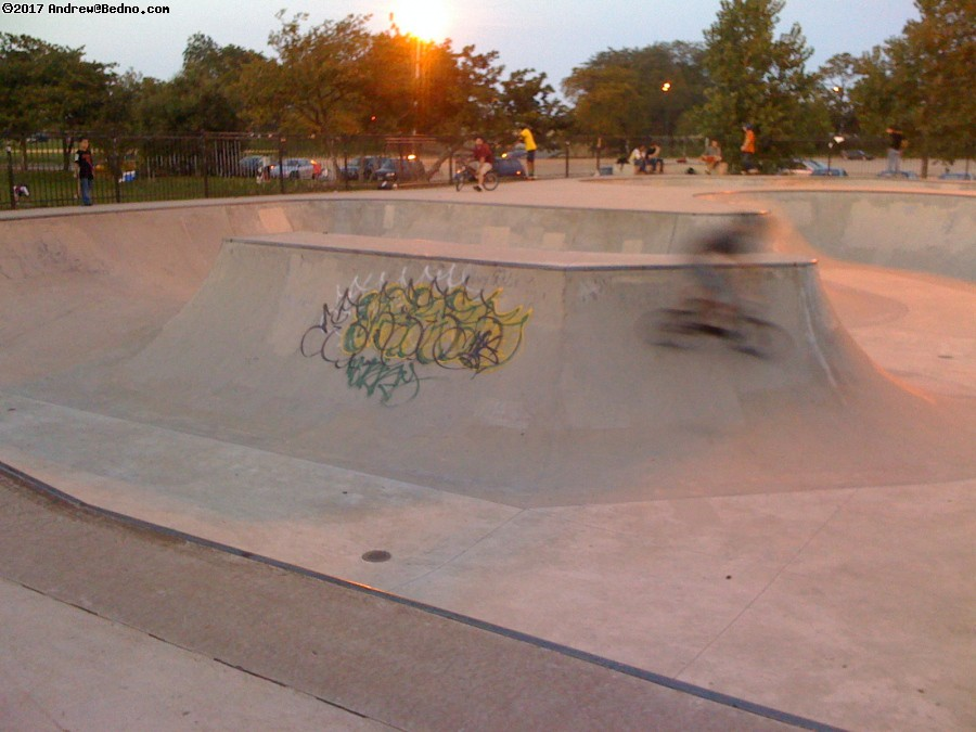 Wilson skate park. (click for next photo)