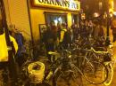 Full Moon Bike ride gathering at Gannon's. (click to zoom)