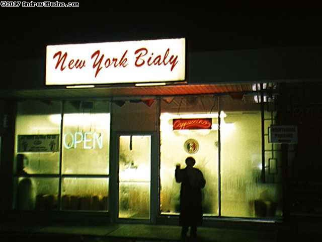 New York Bialy.