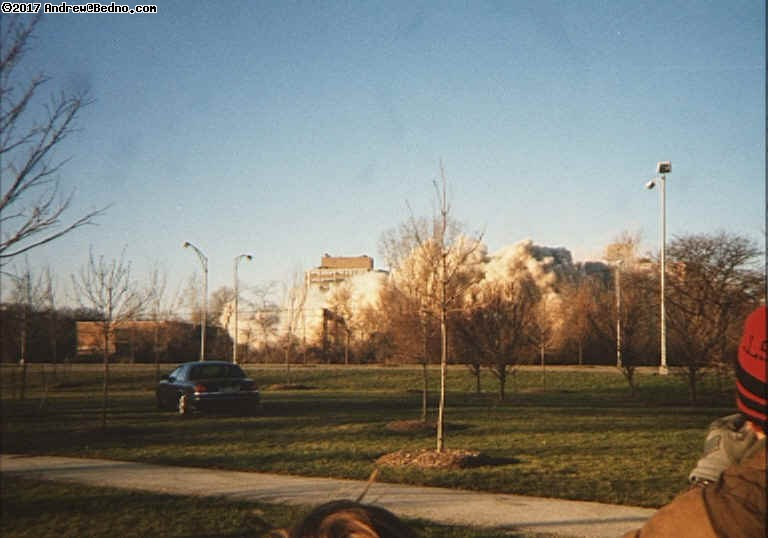CHA buildings implosion.