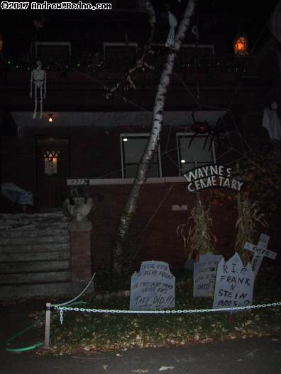 Andersonville homeowners get into the spooky spirit.
