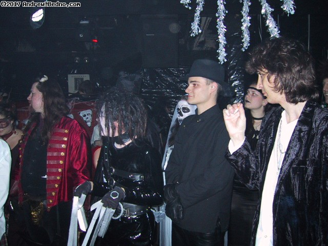Nocturna at SmartBar: Costume contest. Note Keith Richards at right. (click for next photo)