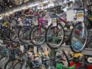 Bikes galore (but don't buy skates here!). (click to zoom)