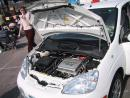 A Toyota Hybrid power vehicle. (click to zoom)