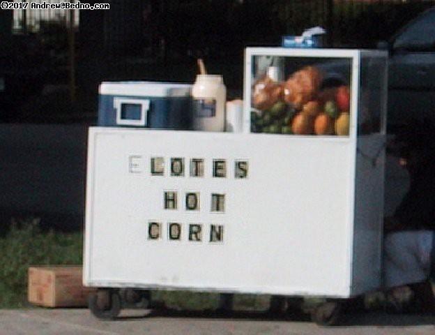 Elotes (Hot Corn).