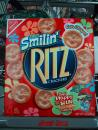 SMILEY FACE Ritz crackers. (click to zoom)