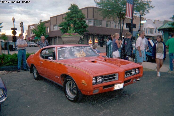 The Judge Pontiac GTO.