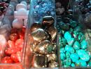 Dave's Rock Shop: Polished stones close up. (click to zoom)