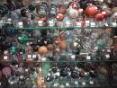 Dave's Rock Shop: Spheres of every kind. (click to zoom)