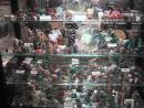 Dave's Rock Shop: Stone animals of every species. (click to zoom)