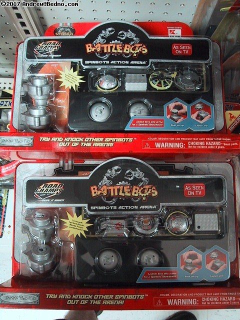 New BattleBots toys.