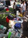 Giant Andersonville yard sale. (click to zoom)