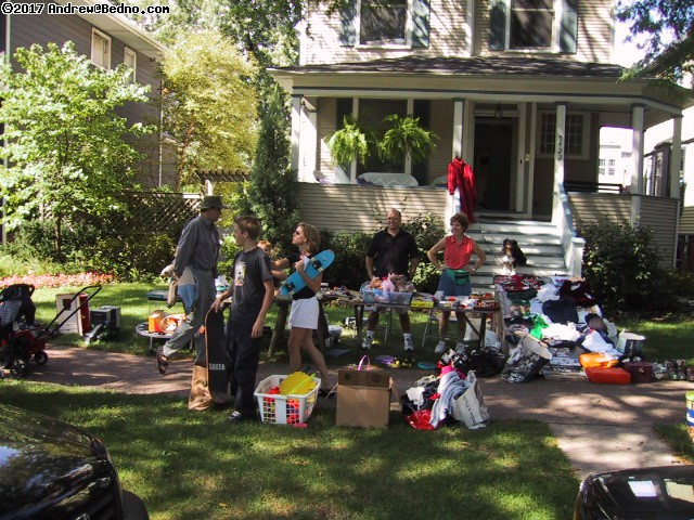 Giant Andersonville yard sale.
